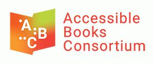Logo de l'Accessible Books Consortium en forme de livre ouvert